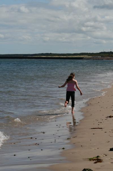 nairn beach the scottish highlands