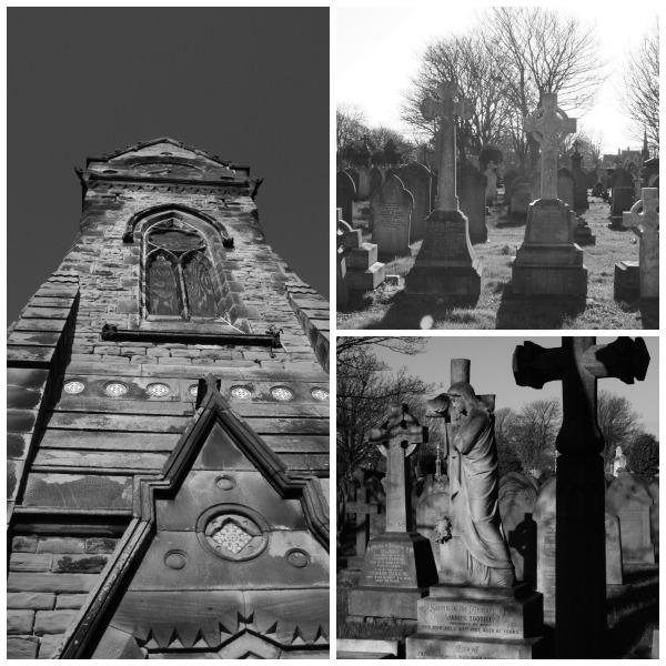 victorian graveyard angels